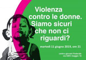 Violenza contro le donne: siamo sicuri che non ci riguardi?