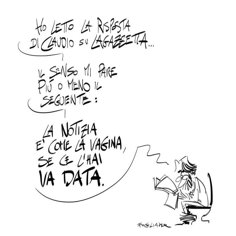 Fogliazza risponde alla Gazzetta di Parma