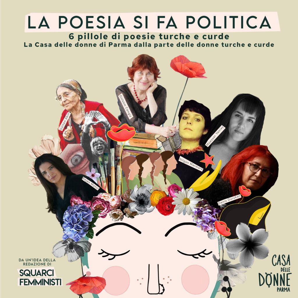 LA POESIA SI FA POLITICA – 6 pillole di poesie turche e curde